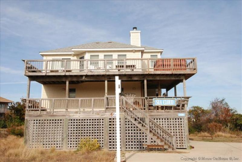 Front Elevation - Sea Cloud - Duck - rentals