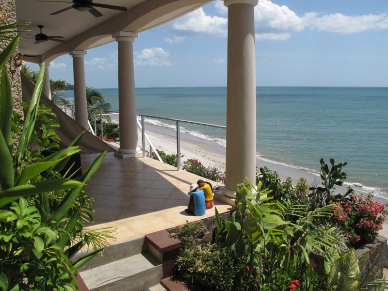 Your terrace in front of the Suite - Suites on the Beach - Beachfront Luxury! - Coronado - rentals