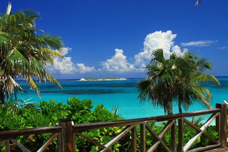 View From Deck - Bahamas Castaway-Beachfront Villa-Fantastic Views- - Eleuthera - rentals