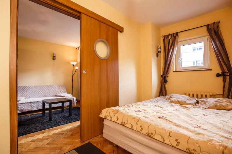 bedroom - Apartament typu studio z 1 sypialnią - Wroclaw - rentals
