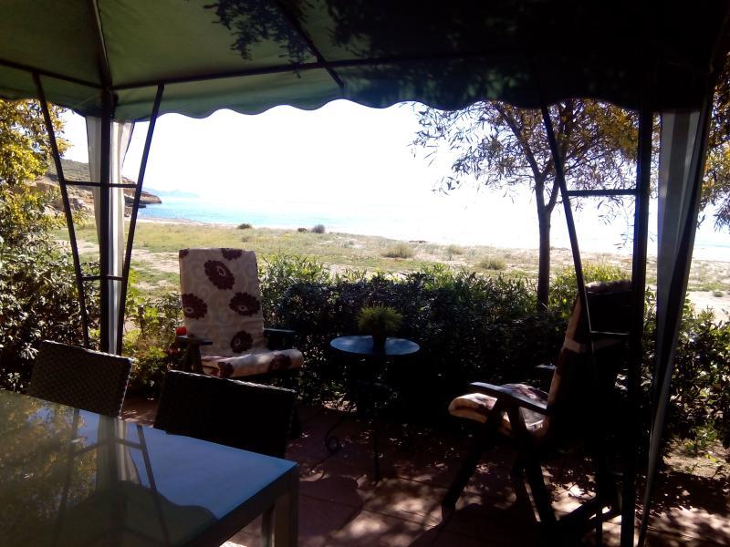 Terrace ready for the aperitivo!! - FISHERMANSHOUSES COTTAGE IN MAZARRON - Mazarron - rentals