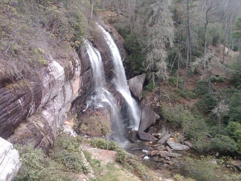Twin Falls...within hiking distance of your cabin - Wilkes Burrow-close to the lake and playgound. Pet - Sapphire - rentals