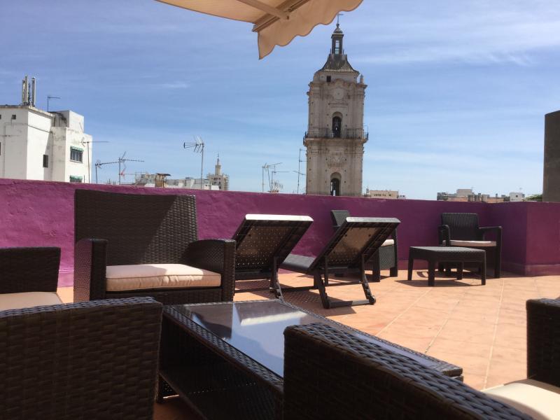 Terrace - Apartment with big terrace in Malaga - Malaga - rentals