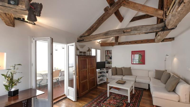 549 One bedroom Large Veranda  Paris Saint Germain des Pres district - Image 1 - Paris - rentals