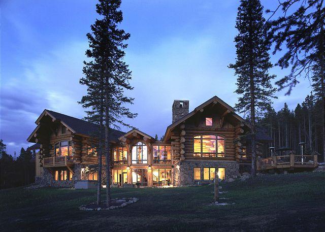 V3 Ranch - V3 Ranch Luxury Log Home on 50 secluded  acres - Breckenridge - rentals