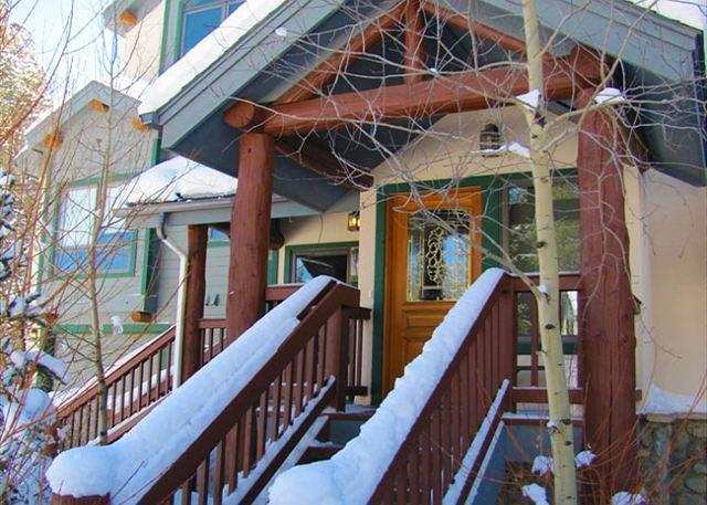 Pines 89 Townhome - Ski in Ski 4 bedroom on 4 O'clock Ski Run - Breckenridge - rentals