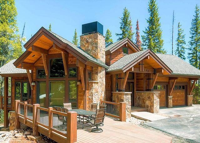 New luxury 5 bedroom 5 1/2 bath lodge in exclusive Northwoods area on Peak 8 - Image 1 - Breckenridge - rentals