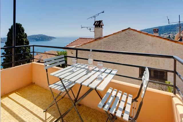 Lovely balcony - Villa le Studio stylish, with amazing views - Villefranche-sur-Mer - rentals