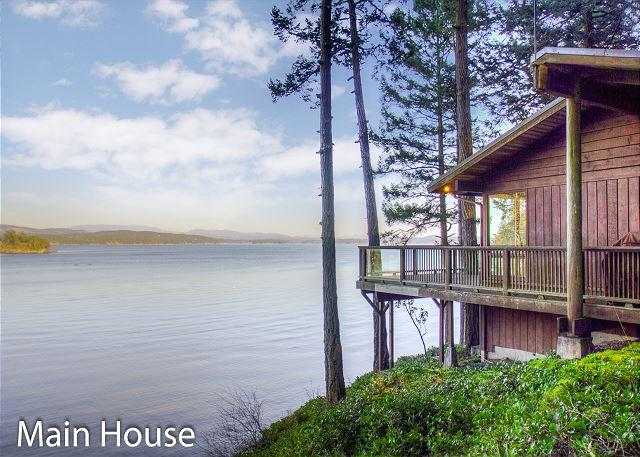 Waterfront Privacy with 3 Homes Totaling 7 Bedrooms and 6 Bathrooms! - Image 1 - Friday Harbor - rentals
