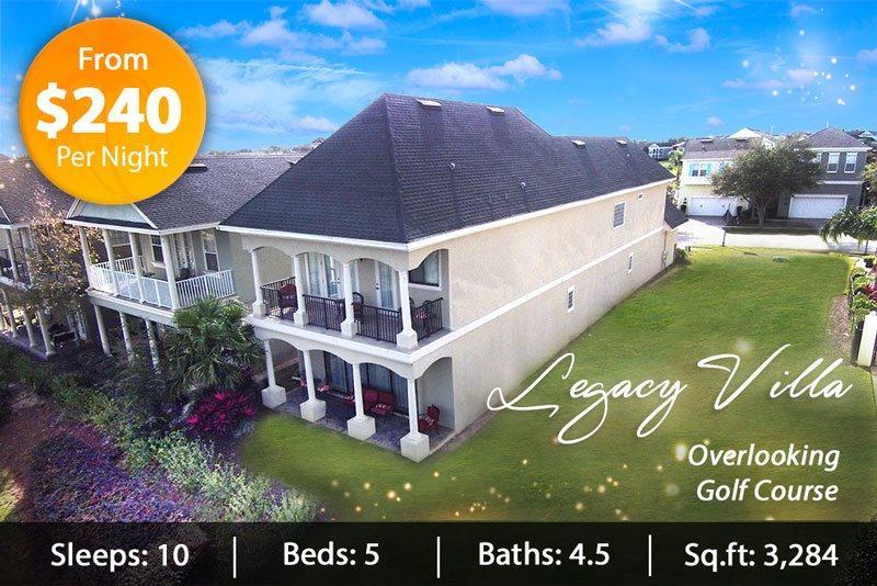 Legacy Villa - Stunning Pool Home in Reunion Resort - Image 1 - Reunion - rentals