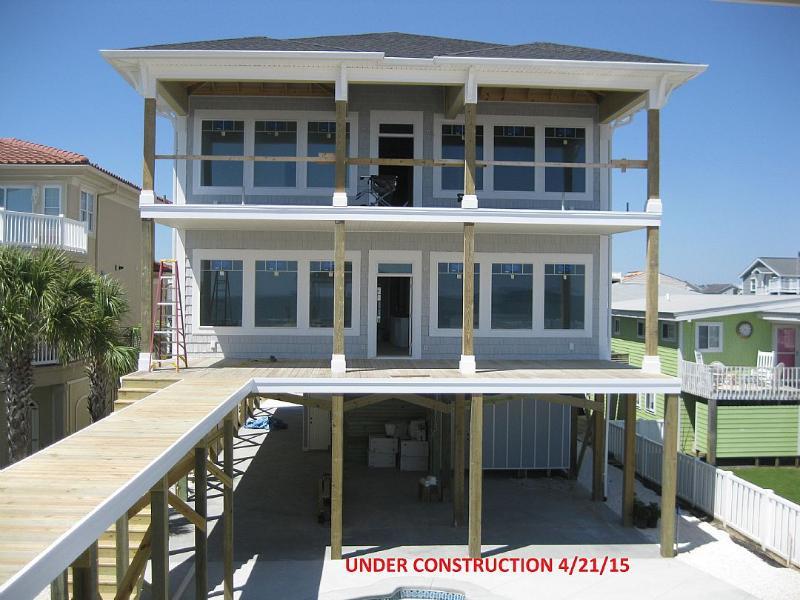 UNDER CONSTRUCTION 5/14/15 - West First Street 229 - Windfall Kern - Ocean Isle Beach - rentals
