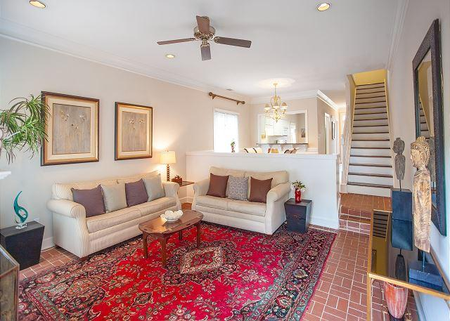 Large home with parking in the heart of downtown - Image 1 - Savannah - rentals