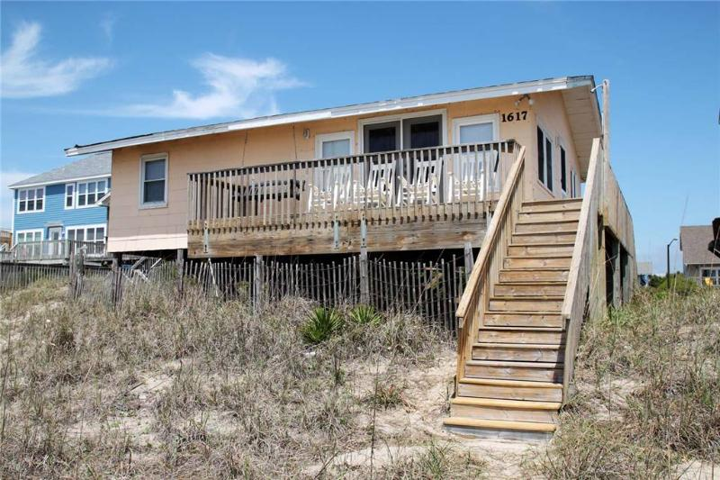 Russell in the Wind  1617 E. Beach Drive - Image 1 - Oak Island - rentals