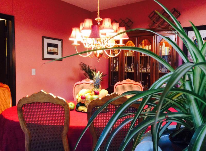 Dinin Room - Dickinson Guest House, Expo Area - Guadalajara - rentals