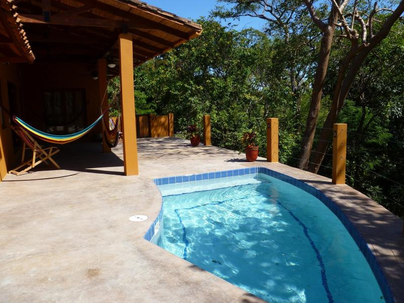 Private Pool overlooking the Jungle Canopy and the Pacific Ocean - Casa Cresta Jungle Canopy near Maderas & Marsella - San Juan del Sur - rentals
