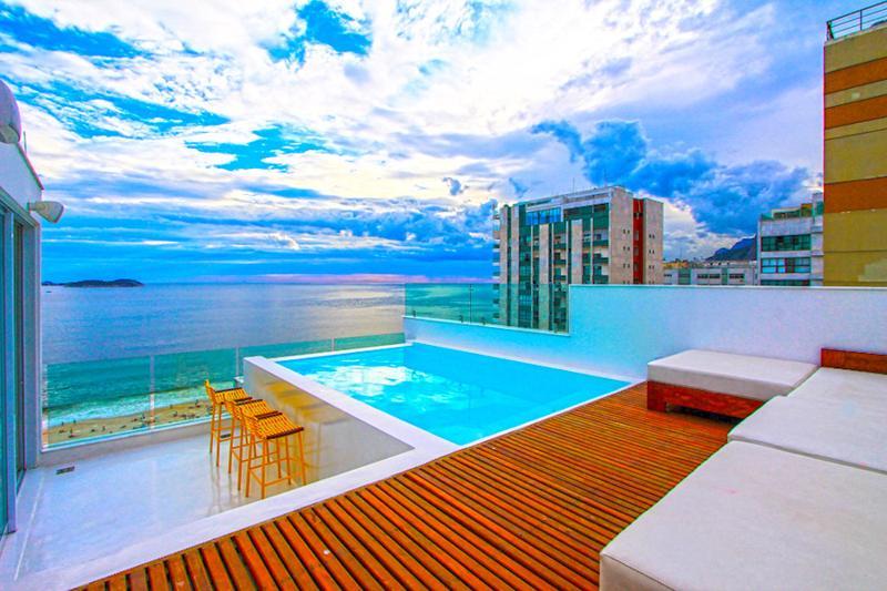 Incredible Ipanema 3 Suite Triplex Penthouse - Image 1 - Rio de Janeiro - rentals