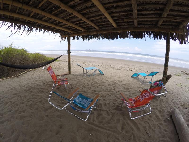 From the palapa at the beach - Beachfront private villa with service included - Las Tunas - rentals