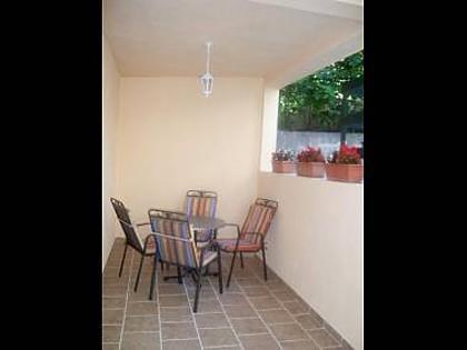 A4 (3+1): terrace - 00213MAKA A4 (3+1) - Makarska - Makarska - rentals
