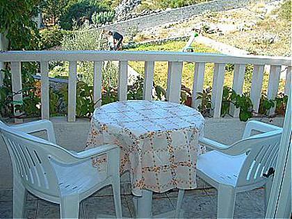 A4(2): balcony - 00907VINI A4(2) - Vinisce - Vinisce - rentals