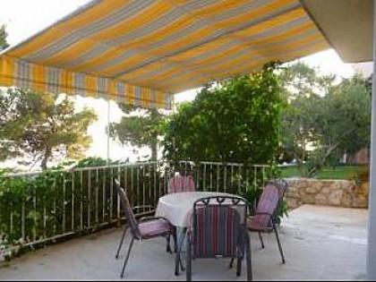 A1(2+1): terrace - 4552 A1(2+1) - Drage - Drage - rentals