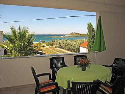 A2(4+1): covered terrace - 4558 A2(4+1) - Pakostane - Pakostane - rentals