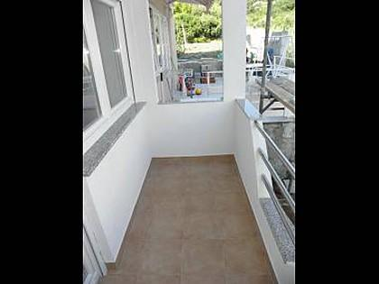 SA2(3+1): terrace - 4580 SA2(3+1) - Sveti Petar - Sveti Petar - rentals