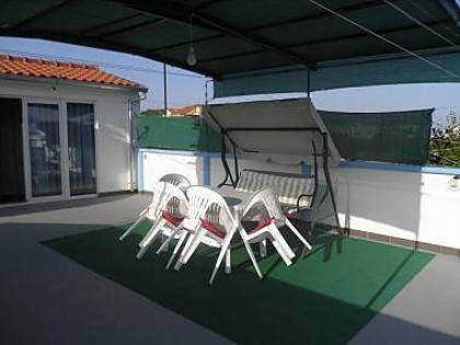 B(2+2): terrace - 00106TRIB B(2+2) - Tribunj - Tribunj - rentals