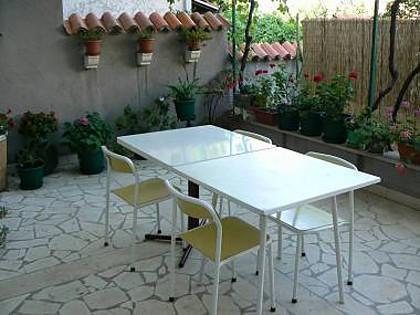 A2 dvorište(4+1): terrace - 4910  A2 dvorište(4+1) - Supetar - Supetar - rentals