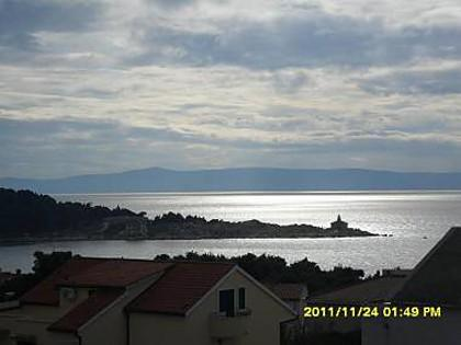 SA1(2+1): balcony view - 4915 SA1(2+1) - Makarska - Makarska - rentals