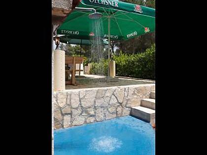H(11+3): terrace - 4917  H(11+3) - Cove Osibova (Milna) - Cove Osibova (Milna) - rentals