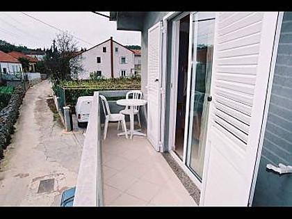 A1(5): terrace - 4945 A1(5) - Kukljica - Kukljica - rentals