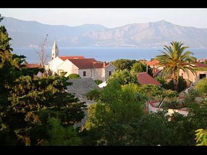 Mia(4+1): terrace view - 4955  Mia(4+1) - Supetar - Supetar - rentals