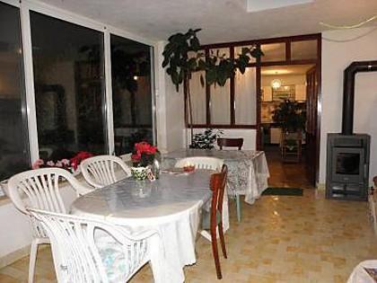 H(6): indoor terrace - 5024 H(6) - Cove Batalaza (Ugljan) - Central Dalmatia Islands - rentals