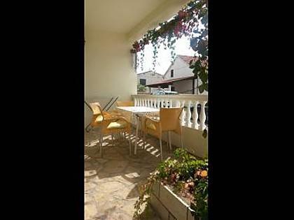 A1(2+2): terrace - 5029 A1(2+2) - Tisno - Tisno - rentals