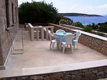 A2(4+1): terrace - 5046 A2(4+1) - Povlja - Povlja - rentals