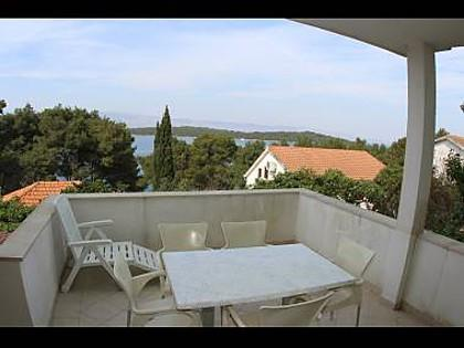 A2 Veliki (4+2): terrace - 5059 A2 Veliki (4+2) - Jelsa - Jelsa - rentals