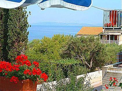 A2(4+1): terrace view - 01301MIRC  A2(4+1) - Mirca - Mirca - rentals