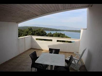 A7(2+2): terrace - 5059 A7(2+2) - Jelsa - Jelsa - rentals