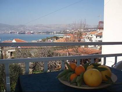A3(2+1): terrace - 5121  A3(2+1) - Okrug Gornji - Okrug Gornji - rentals