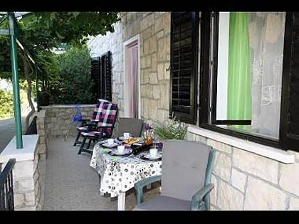 A2(4): terrace - 5135  A2(4) - Postira - Postira - rentals