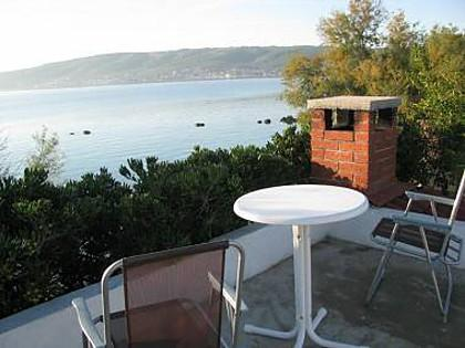 H(4+1): terrace view - 5143  H(4+1) - Kastel Stafilic - Kastel Stafilic - rentals