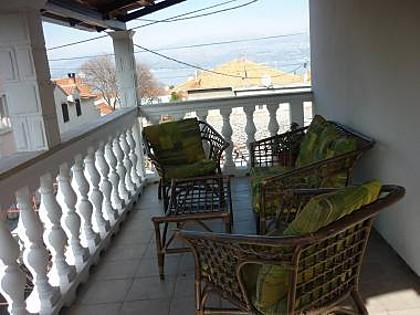 A1(8): terrace - 5152 A1(8) - Supetar - Supetar - rentals