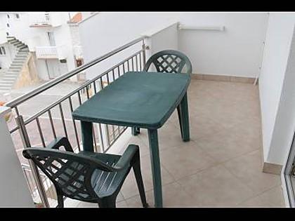 A1(2+1): balcony - 5165  A1(2+1) - Okrug Gornji - Okrug Gornji - rentals
