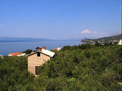 A1 jug(4+1): terrace view - 01413TUCE  A1 jug(4+1) - Tucepi - Tucepi - rentals