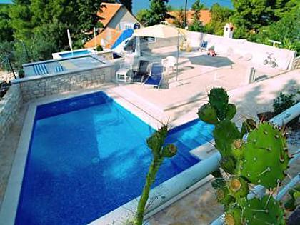 swimming pool (house and surroundings) - 5368 A1(6+1) - Sutivan - Sutivan - rentals