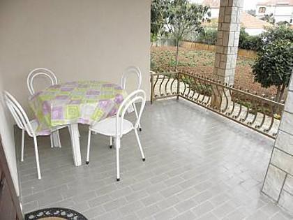 Mali (2+1): terrace - 5406  Mali (2+1) - Jezera - Jezera - rentals