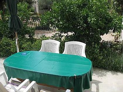A3(2+2): garden terrace - 5419 A3(2+2) - Jezera - Jezera - rentals