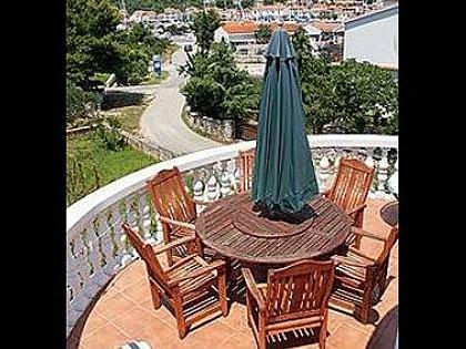 A8(4+2): terrace - 5419 A8(4+2) - Jezera - Jezera - rentals