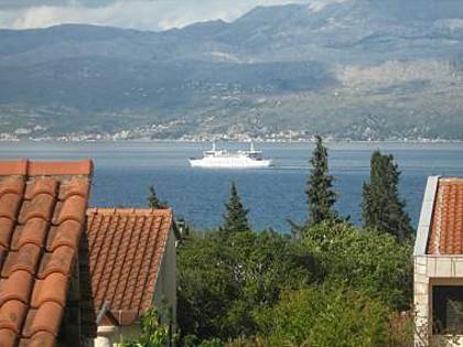 A1(4+2): terrace view - 5446 A1(4+2) - Supetar - Supetar - rentals