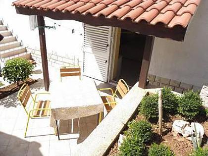 SA2 Mali donji(2): terrace - 5482 SA2 Mali donji(2) - Posedarje - Posedarje - rentals